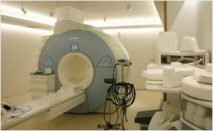 某病院MRI室